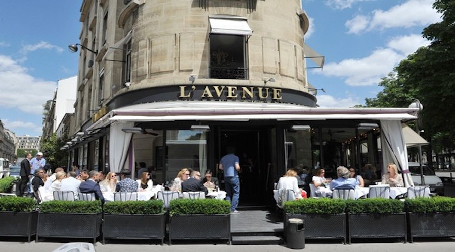 LAvenue Restaurant : Kim Kanye cruise through Paris XxA3gIUUsczl from denizennavigator.com size 900 x 500 jpeg 133kB